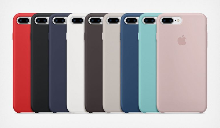 coque silicone iphone 8 plus authentique